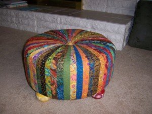 Sheila's footstool