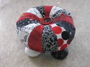 redblack pincushion
